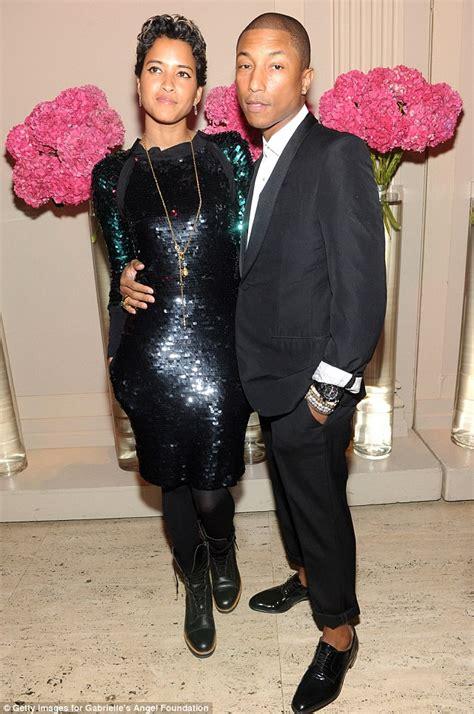 pharrell williams wife pharrell williams and helen lasichanh make glamorous