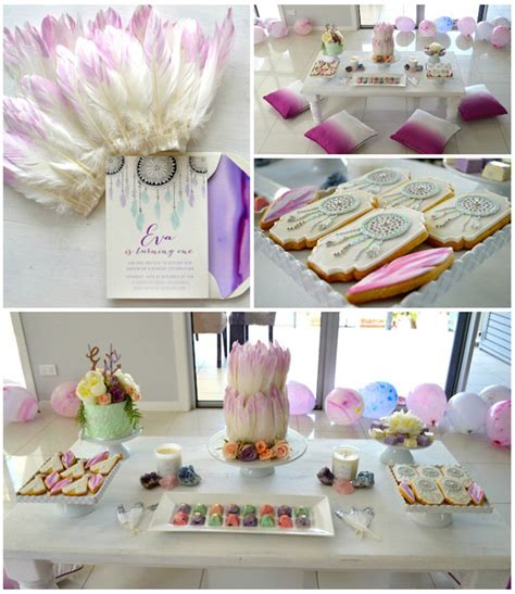 kara s party ideas bohemian teepee themed 1st birthday party