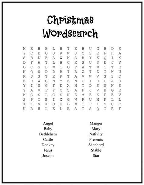 printable holiday word games printable christmas games for kids and adults