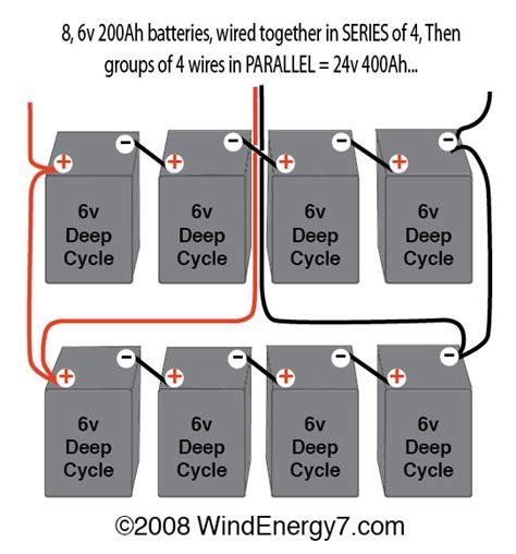 wiring 2 6 volt batteries in series wiring free engine