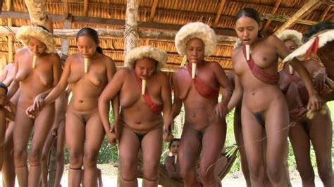 South American Nude Tribe Women Naked