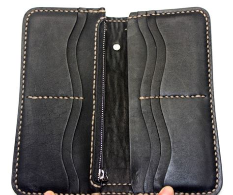 Handmade Wallets For - blue leather wallet handmade leather wallet for
