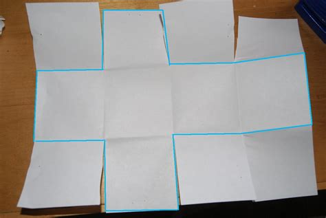 How To Make A Box From A4 Paper - easy paper box s houseful
