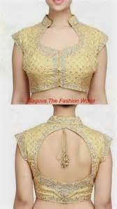 golden color blouse trendy gold color blouse neck designs maguva the fashion