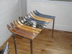 bench made out of skis 1000 images about old skis on pinterest ski wine racks and picture ledge