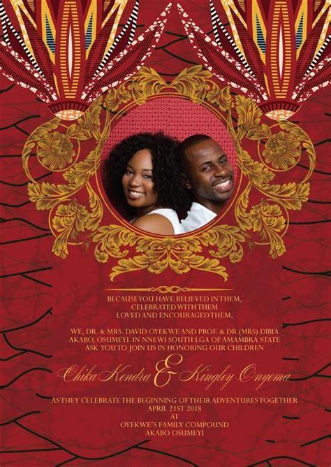 jubilee african wedding invitation african wedding theme