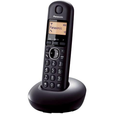 Ready Telephone Wireless Panasonic Kx Tgb210 Black panasonic wireless phone kx tgb210 black hemelektronik cdon