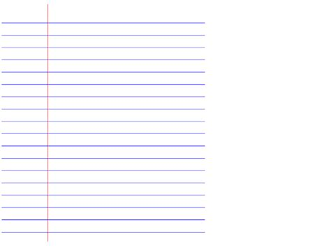 lined paper with plain border lined notebook paper clipart 42