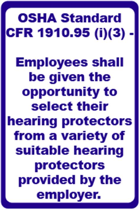 Hearing Protection Osha Hearing Conservation Program Template