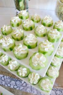 baby shower appetizers on chocolate lollipops