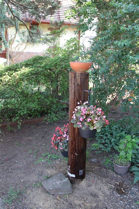 utility pole planter billlawrenceonline