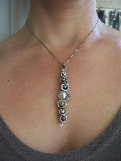 vertebrae pendant earthy modern contememporary jewelry