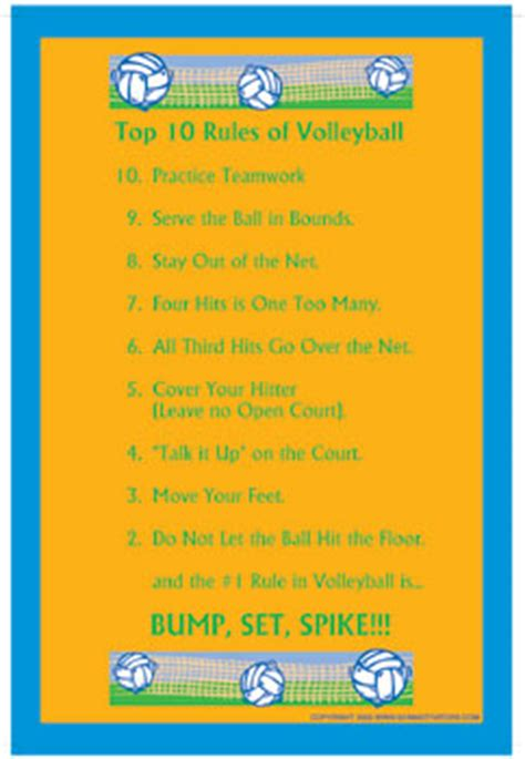 printable rules for volleyball 053