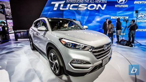 hyundai crossover 2016 all 2016 hyundai tucson crossover revealed