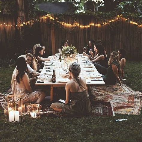 what to but a hippie fir christmas how to host the bohemian chic outdoor dinner decoholic
