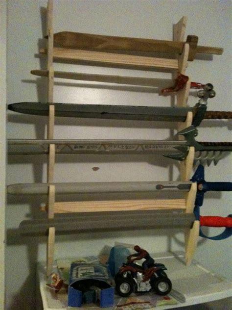 Sword Rack by Sword Rack For S Swords By Trimble