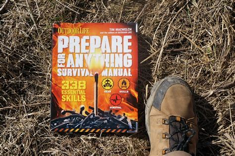 prepare for anything paperback edition 338 essential skills outdoor books prepare for anything book review the outdoor adventure