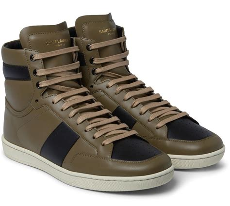 laurent high top sneakers the newest 7 sneakers from laurent fashion runway