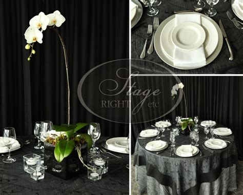 what about a potted orchid centerpiece table ideas