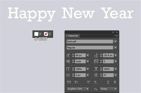 illustrator tutorial new years adobe illustrator tutorial happy new year greeting card