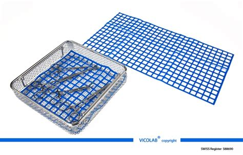 Mat Register by Vicolab 174 Silicone Cover Mat Or On Bottom Of Washing Trays