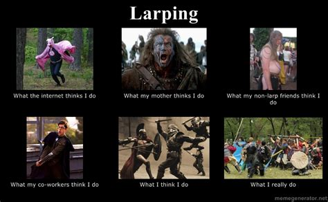 Larping Meme - review report reveal robin booker films larp larping