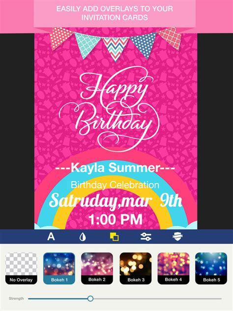 free invitation creator app app shopper invitation maker invite maker photography