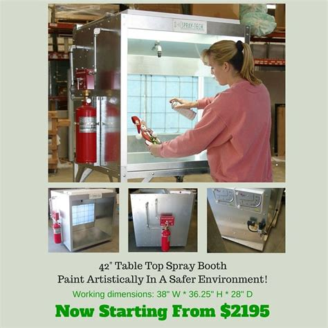 bench top spray booth 9 best table top paint booths images on pinterest paint