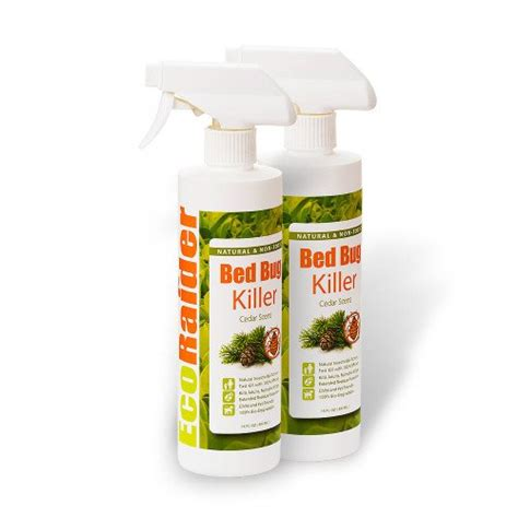 bed bug egg killer spray oz twin pack ecoraider natural bed bug killer