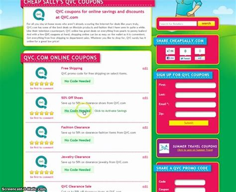 discount vouchers qvc easy pay code how to use qvc promo codes popscreen