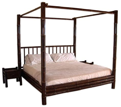 bamboo canopy bed tamarindo bamboo canopy bed bamboo house pinterest