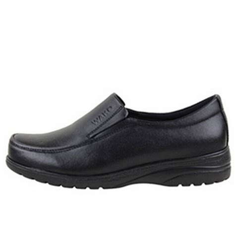 leather chefs shoes kitchen nonslip shoes safety