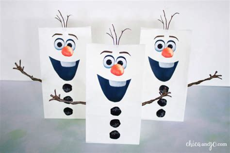 printable olaf eyes olaf frozen favor bags and sno cone cups chica and jo