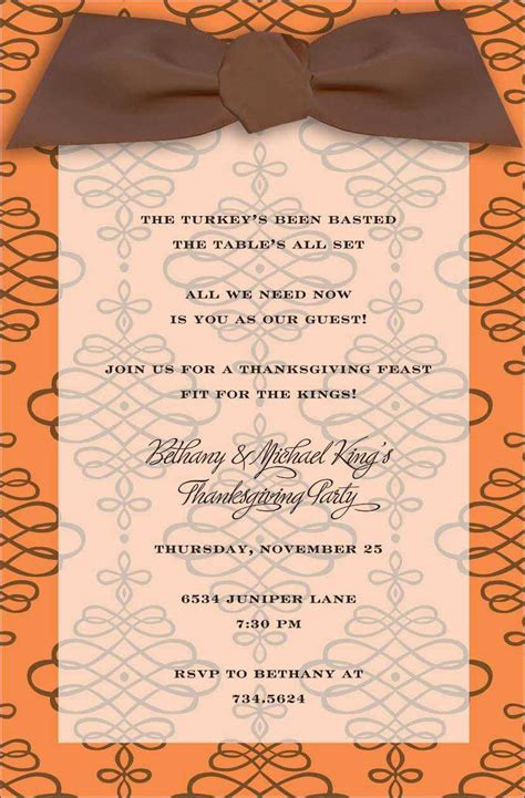 thanksgiving invitation card template thanksgiving invitations