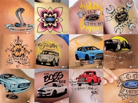 design your own tattoo app prove you are true blue with a ford