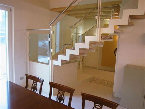 ringhiera acciaio e vetro ringhiere vetro inox e alluminio murarotto serramenti