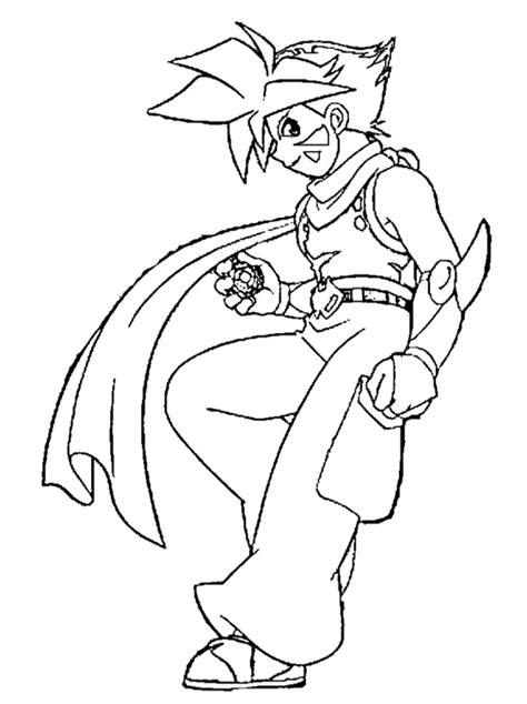 Kids Page: Beyblade Coloring Pages