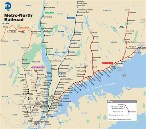 metro map of new york map of nyc commuter rail stations lines