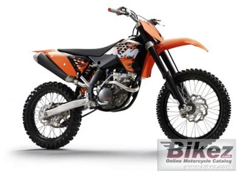 2008 Ktm 250 Xcf Review 2008 Ktm 250 Sx F Specifications And Pictures
