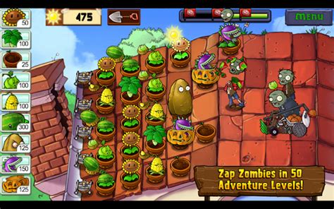 popcap apk plants vs zombies for android