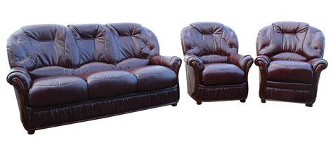 sofa offer debora 3 1 1 genuine italian burgundy leather sofa suite offer