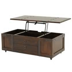 Lift Coffee Table Santa Fe Lift Top Coffee Table W Casters El Dorado Furniture