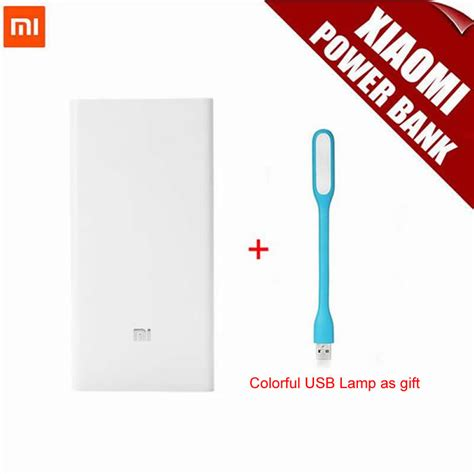 Power Bank Mi 8800mah aliexpress buy 100 original xiaomi mi power bank 20000mah portable mobile power bank mi