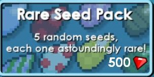 programs wiki growtopia seeds rare seed pack growtopia wiki