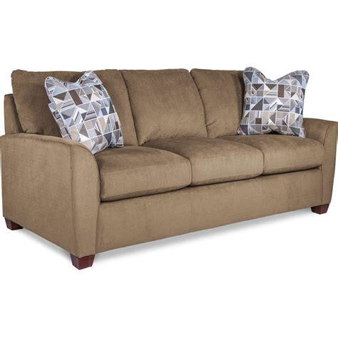 supreme comfort la z boy amy casual supreme comfort queen sleeper sofa