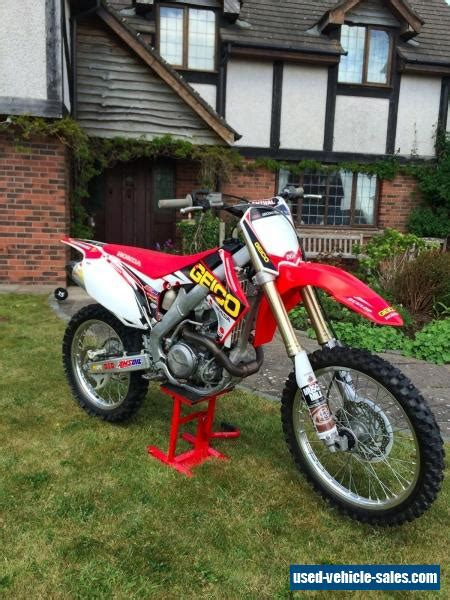 450 motocross bikes for sale 2013 honda crf for sale in the united kingdom