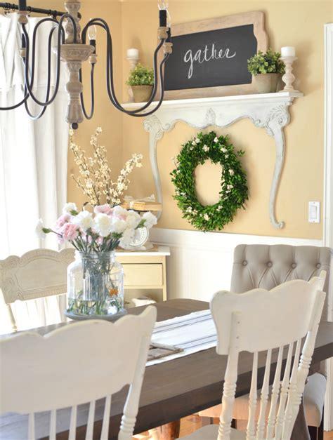 diy dining room decor diy shelf with vintage dresser harp
