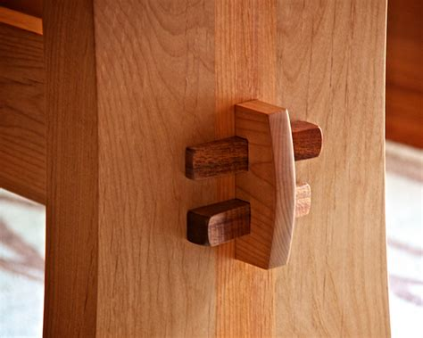 wedge joint woodworking table woodworking wood joinery