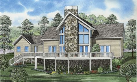Small Lakefront House Plans Small Lake House Plans Small House Plans Lakefront Waterfront House Plan Mexzhouse