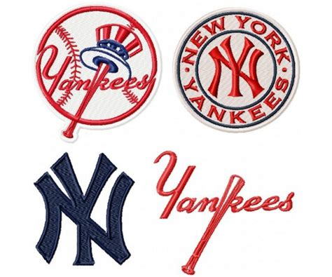 logo embroidery nyc new york yankees logo machine embroidery design for